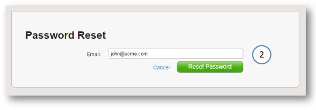 password reset 2