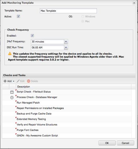 solarwinds rmm service release with mac agent update solarwinds
