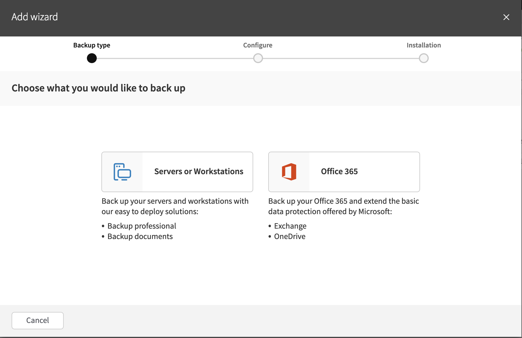 SolarWinds Backup 19 3, with support for Office 365 OneDrive